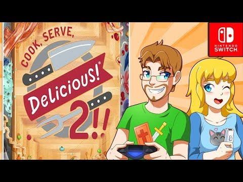 Cook Serve Delicious 2 Gameplay PREVIEW Nintendo Switch