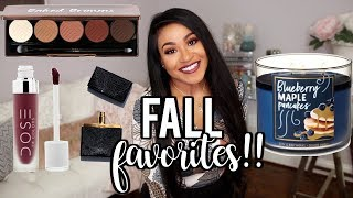My Favorite Stuff For Fall 2018 | Perfume, Makeup, + Candles!! NitraaB