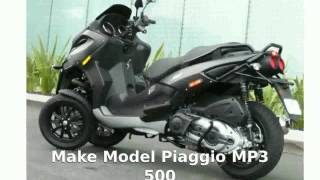 9. Piaggio MP3 500 -  motorbike Specs Top Speed superbike Transmission Info Details Dealers