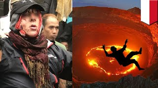 Video Bule Jerman jatuh ke kawah Gunung Agung Bali - TomoNews MP3, 3GP, MP4, WEBM, AVI, FLV Desember 2017