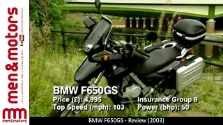 10. BMW F650GS - Review (2003)