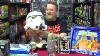 DVT Talks 06/28/17 LIVE - Podcast and GIVE-AWAYDallas Vintage Toys is a vintage toy store in Dallas Texas specializing in toys from the 70's, 80's ad 90's! The biggest genre of toys in the store is STAR WARS of which every generation from 1977-2015 is available and in stock! You have to stop by and see it for yourself at 12052 Forestgate Dr, Dallas TX 75243, Phone 214-827-7060, or visit them online at www.dallasvintagetoys.com - WE BUY TOYS!