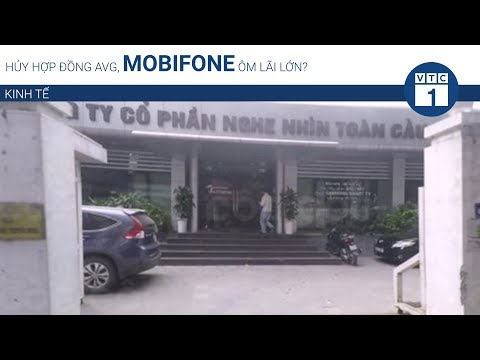 Hủy hợp đồng AVG, Mobifone ôm lãi lớn? | VTC1 - Thời lượng: 99 giây.