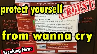 How to protect yourself from wanna cry ransomware The Source: http://www.telegraph.co.uk * * * Ransomware attack using NSA exploit is spreading Worldwide, Wa...