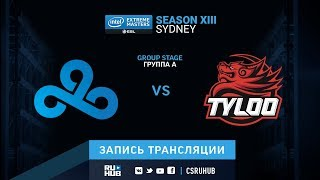 Cloud9 vs Tyloo - IEM Sydney XIII - map1 - de_inferno [yXo, ceh9]