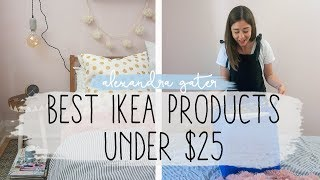 THE BEST IKEA PRODUCTS UNDER $25 | DECORATE WITH ME