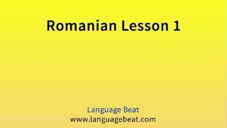 Visit languagebeat.com for information about these free languagebeat.com audio lessons. At languagebeat.com you can also find where to download the Learn Romanian  manual that can be used to accompany these free audio lessons.