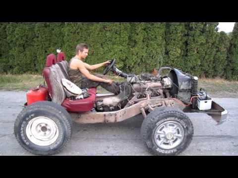 """Gearhead's """"go cart"""" packs V8"""
