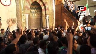«العريفي» يدعو للجهاد في سوريا من مسجد «عمرو»