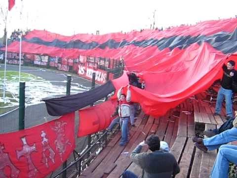 bandera gigante,TELON, Ñublense de chillan chile - Los REDiablos - Ñublense