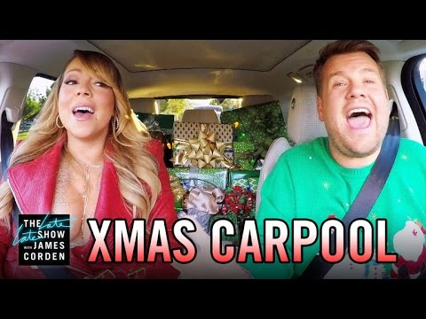 'All I Want for Christmas' Carpool Karaoke (видео)