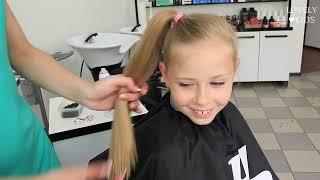 прически для первоклассницы на длинные волосы фото