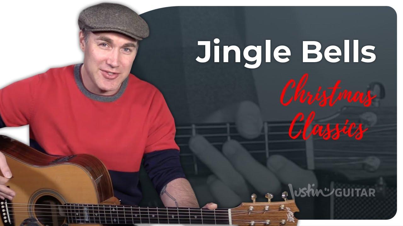 Jingle Bells Guitar Lesson Tutorial Chords Strumming Easy Christmas Xmas Songs