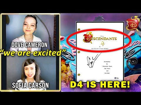 SECRET Details About Descendants 4 REVEALED!