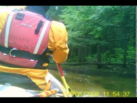 shallow creeking on the wonolancet river