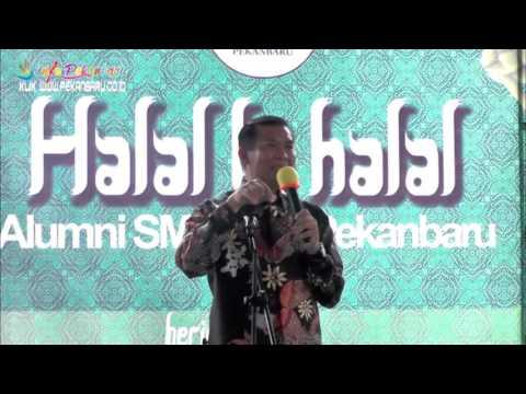 Halal Bihalal Walikota Pekanbaru Bersama Alumni SMANSA Pekanbaru Tahun 2016 (IKASMANSA PEKANBARU)