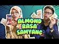 Tiffani & Alphiandi Nyobain Almond Rasa Samyang #CekOmbak