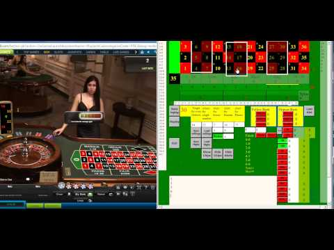 Betting on three double streets as an Evens alternative using Roulette Key Gold