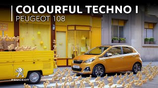 Peugeot 108 x Mika | Colorful Technology