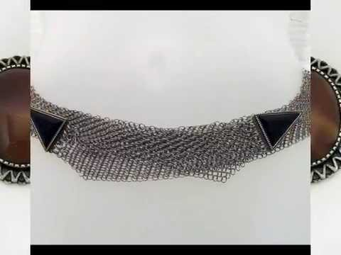 Belts - A Sampling of Anthony Ferrara Fashion Mesh Metal Collection