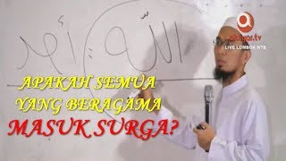 Video Selain Islam Tidak Masuk Surga? - Ustadz Adi Hidayat, Lc. MA MP3, 3GP, MP4, WEBM, AVI, FLV Mei 2019