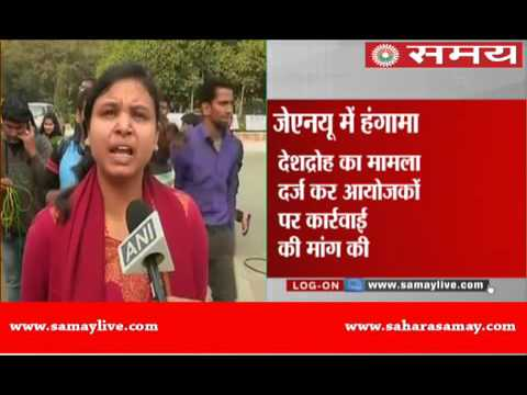 ABVP protests in JNU