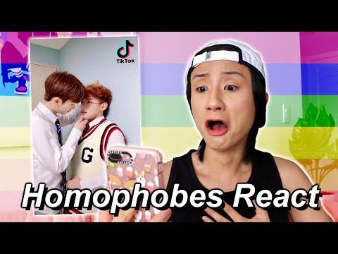 Homophobes React to Gay Tiktoks