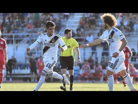 Video: GOAL: Ulysses Llanez goes top corner for his first professional goal
