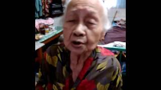 nenek 91 Tahun bernyanyi kimigayo