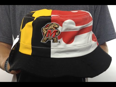 Maryland 'FLAG BUCKET' Hat by Zephyr