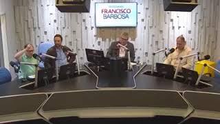 """Hoje no """"Programa Francisco Barbosa"""" Gilson Ricardo mostra indignação quando questionado sobre o edital que prevê a..."""