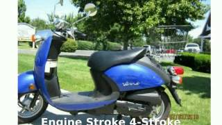 1. 2007 Yamaha Vino Classic Walkaround, Features