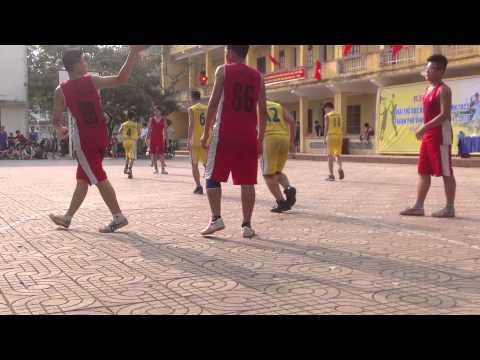 Chung kết giải bống rổ THCS Bến Thuỷ vs THCS Lê Lợi
