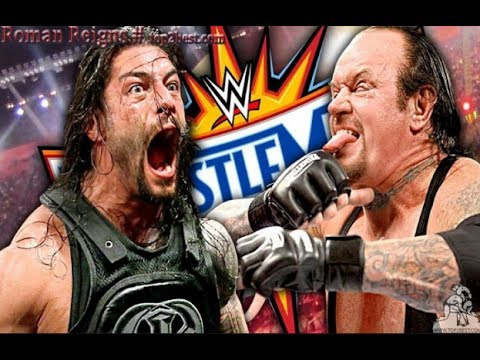 Video WWE Last Fight of The Undertaker vs Roman Reigns at Wrestlemania 33 download in MP3, 3GP, MP4, WEBM, AVI, FLV January 2017