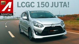 Video Review Toyota Agya 1.200 cc test drive by AutonetMagz MP3, 3GP, MP4, WEBM, AVI, FLV Oktober 2017