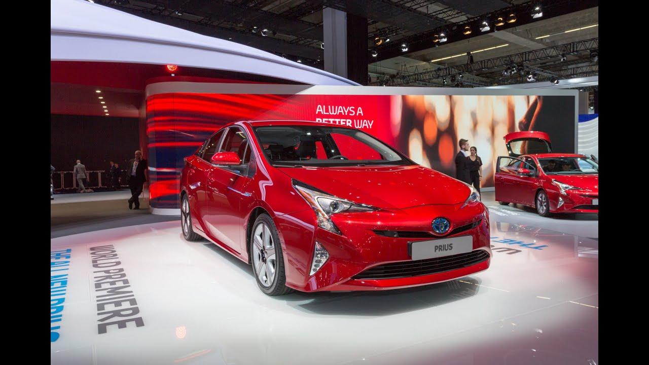 2016 Toyota Prius: Франкфурт 2015