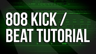 Download Lagu FL Studio Tutorial - How To Make 808 TRAP Bass Kick / NEW SCHOOL RAP BEAT [Tune Seeker] Mp3