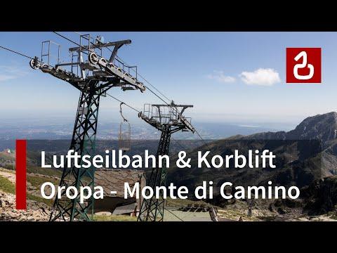 Preview video Funivie Oropa - Monte di Camino