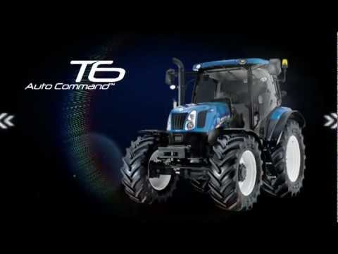 New Holland T6 Auto Command. Take Control