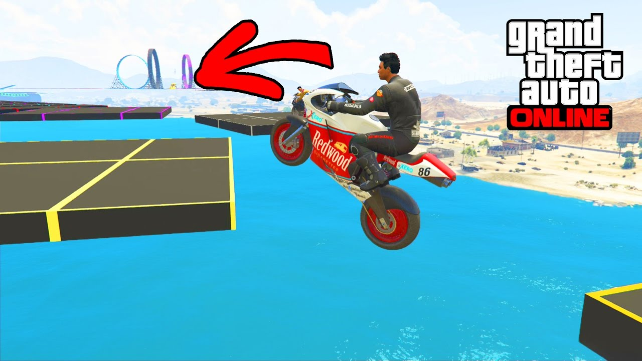 FUNNY TOTAL WIPEOUT MOTO – GTA 5 ONLINE