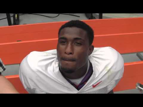 Bashaud Breeland Interview 8/14/2013 video.