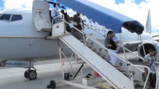 United Airlines UA 154 from Honolulu to Guam via Majuro, Kwajalein, Kosrae, Pohnpei, and Chuuk on a B737-800 (N14240). This is a video report detailing the ...