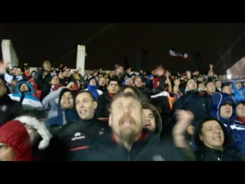 Chacarita 0 vs 2 Brown de Madryn - Recibimiento bajo diluvio - La Famosa Banda de San Martin - Chacarita Juniors