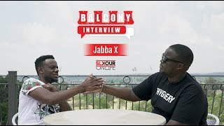 #BalconyInterview: JabbaX On Being Ahead Of His Time, Understanding Depression& South Africa's Sound