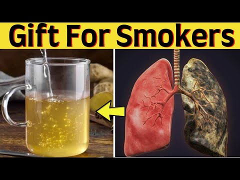 In 3 days Clean Tar from Lungs after Smoking – DIY Natural Lung Cleansing Drink