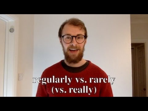 Pronunciation of 'Regularly' and 'Rarely' (vs. 'Really') in Standard British English