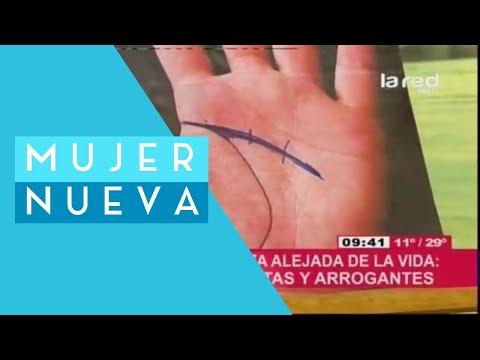 Bárbara Canale enseña a leer las líneas de las manos