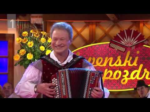 Ansambel Franca Miheliča - Glasba je moj čarobni svet (Slovenski pozdrav, 5.2.2016)