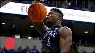 Zion Williamson, RJ Barrett lift Duke vs. Pitt   College Basketball Highlights