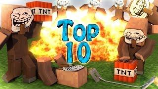 Minecraft Trolling | Modded Top 10 Trolling Mods - Trolling&Prank Mods! (Trolling)